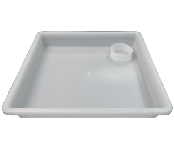 20-Series Semi-Clear Tub with Cup Holder