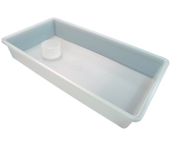 70-Series Semi-Clear Tub with Cup Holder